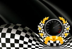 Racing Background. Computer illustration, isolated on the white Stock Photography