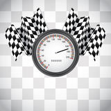 Racing background Royalty Free Stock Photo