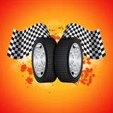 Racing background Royalty Free Stock Images