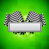 Racing background Stock Photography