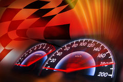 Racing background Royalty Free Stock Photos