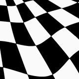 Racing background with checkered flag abstract illustration.  Stock Photos