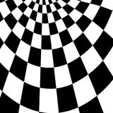 Racing background with checkered flag abstract illustration.  Royalty Free Stock Images