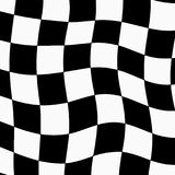 Racing background with checkered flag abstract illustration.  Royalty Free Stock Photography