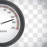 Racing background with speedometer Royalty Free Stock Image