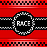 Racing background, square Stock Photography