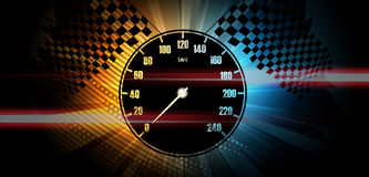 Racing background, vector illustration abstraction in car. Racing background, vector abstraction in car track Stock Images