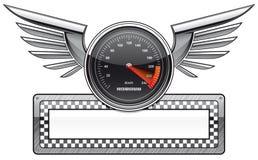 Racing banner Stock Image