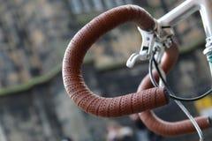 Racing Bicycle Handlebar stock image