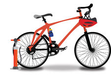 Racing Bicycle, illustration Stock Image