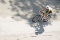 Racing bicycles Stock Photography