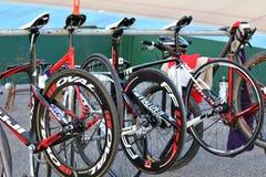 Racing bicycles Stock Photos