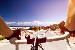 Racing Bike Stock Photography