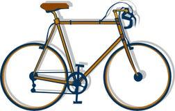 Racing bike graphic Stock Photography