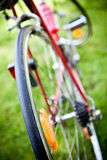 Racing bike wheel Royalty Free Stock Photography
