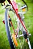 Racing bike wheel Royalty Free Stock Photography