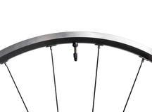 Racing bike wheel Stock Photo