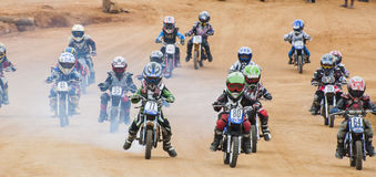 Racing bikes Royalty Free Stock Photos
