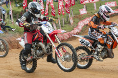 Racing bikes Royalty Free Stock Images