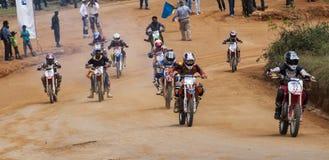 Racing bikes Stock Photos