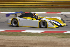 Racing car. On the track Royalty Free Stock Photo