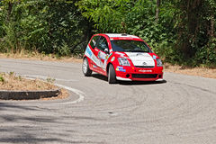 Racing car Citroen C2 R2 max Stock Images
