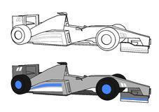Racing car Royalty Free Stock Images