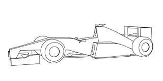 Racing car design Stock Image