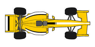 Racing car design Royalty Free Stock Photography