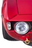 Racing car detail stock photo