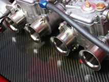 Racing car engine, detail royalty free stock image