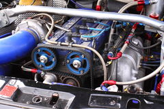 Racing car engine A Royalty Free Stock Image