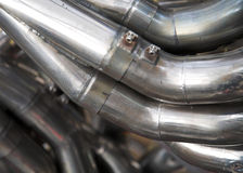Racing Car Exhaust Royalty Free Stock Photos