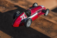 Racing car of the Fangio era Stock Images