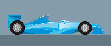 Racing car the formula,. Racing car the formula in fighting colouring vector illustration