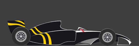 Racing car the formula,. Racing car the formula in fighting colouring royalty free illustration