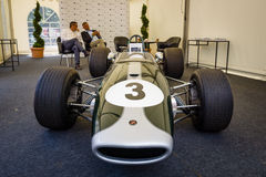 Racing car Formula-2, Brabham BT23-5, pilot Jochen Rindt, 1967 Stock Photography