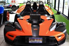 Racing car KTM X-BOW Stock Images