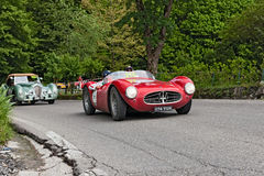 Racing car Maserati in Mille Miglia 2013 Stock Photos