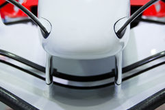 Racing car nose Stock Image