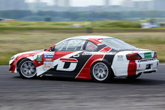 Free Racing Car Of E.Satyukov On Track In 3-d Tour Royalty Free Stock Photo - 25446765