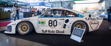 Racing car Porsche 935 L1 Baby, 1980 Royalty Free Stock Photography