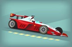 Racing car poster Royalty Free Stock Photos