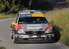 Racing car Renaul Clio Royalty Free Stock Photo