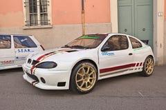 Racing car Renault Megane Royalty Free Stock Photo