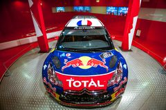 Racing car Sebastien Loeb Stock Photos