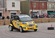 Racing car Smart Fortwo Stock Photos
