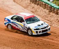 Racing car in srilanka Royalty Free Stock Photos