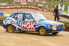 Racing car in srilanka Royalty Free Stock Photo