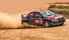 Racing car in srilanka Royalty Free Stock Image